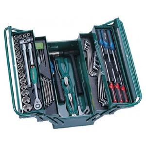 Универсальный набор инструмента в ящике 66 предмета JONNESWAY C-3DH201