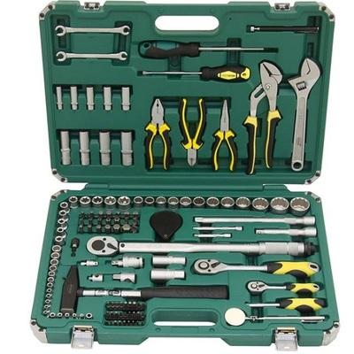 Набор инструмента общефункциональный 125 предметов Арсенал Моторист АА-С1412Р125