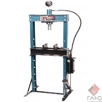Пресс гидравлический ручной/ножной с подвижным штоком на 20 тонн TS0500F-3