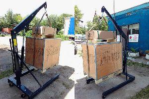 Кран гаражный ручной гидравлический BRC-500