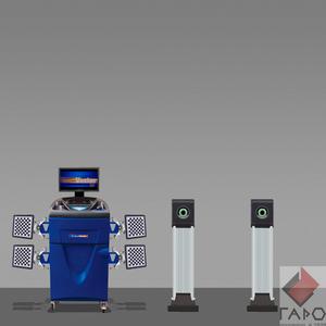 Стенд сход развал 3D ТехноВектор 7 V7202 М5A