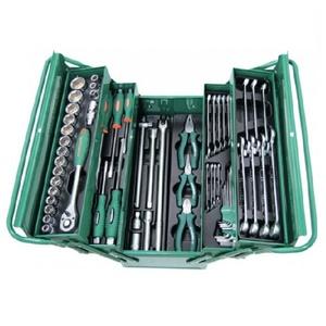 Универсальный набор инструмента в ящике 62 предмета JONNESWAY C-3DH262