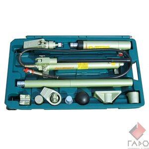 Набор гидроинструмента (10т двухскоростной) 18 предметов Jonnesway AE 010015