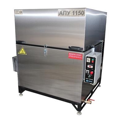 Автоматическая мойка для деталей с механическим приводом корзины АПУ-1150