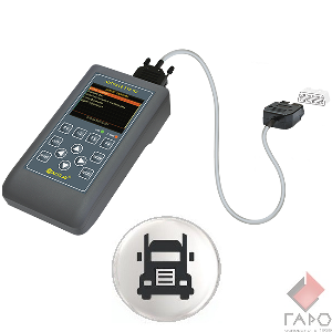Сканер для диагностики грузовых автомобилей, автобусов, спецтехники АВТОАС-F16 G2