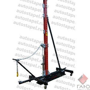 Силовая башня для правки кабин грузовых автомобилей, усилие 10т. высота 3500 мм