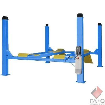 Подъемник четырехстоечный электрогидравлический TEMP TFA4500-3D