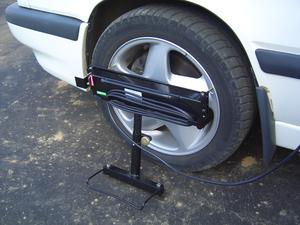 Прибор для измерения суммарного люфта рулевого управления автотранспортных средств ИСЛ-401М