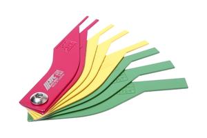 Набор щупов для измерения толщины колодок дисковых тормозов 2-12мм JTC-1335