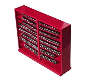 """Набор головок торцевых 1/2"""" 6-ти гранных 10-32мм глубоких в металлическом шкафу 137 предметов JTC"""