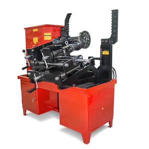 Стенд для правки дисков литых кованых штампованых с токарным модулем Премьер-Альфа-Т (Сибек)