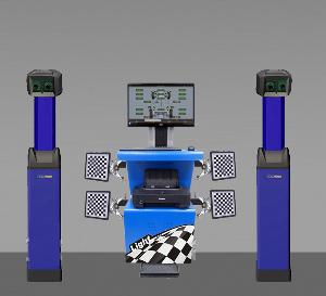 Стенд развал схождения 3D для грузовых автомобилей Техновектор 7 Ttuck 7204 H T